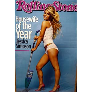 Jessica Simpson~ Jessica Simpson Poster~ Rare Poster!!~ Approx 23