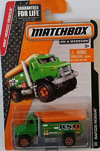 "Matchbox ""On a Mission"" - MBX Heroic Rescue - Rapids Rescue #103/120"