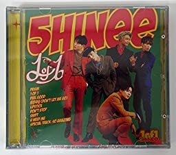 SHINee - 1 of 1 (Vol.5) CD with Folded Poster Extra Gift Photocards Set