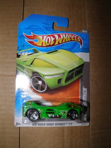 Hot Wheels, Night Burner, Hot Wheel Video Game Heroes, 2011, #238, 16 of 22 - 1