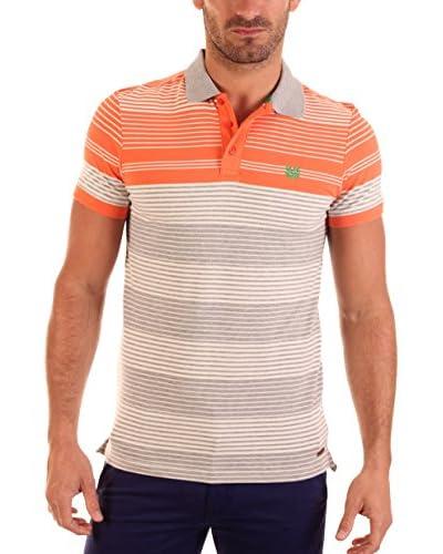 BENDORFF Polo [Grigio/Arancione]