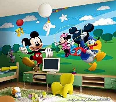 Mickey Mouse Disney Photo Wallpaper Wall Mural by Superflowdesign