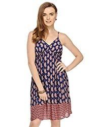 Blue Strappy Dress X-Small