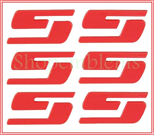 Black All Sales Front//Rear Combo Grille Emblem with Border 96101KC
