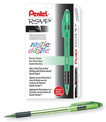 Black Barrel//Ink//Base 24-Inch Steel Chain Medium Point 05059 PM Company Preventa Chain Counter Pen with Chrome-Plated Tip And Agion Technology