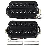 Kmise MI0339 Bridge Neck Guitar Humbucker Pickup Set Invader...