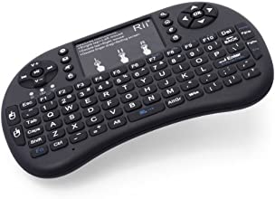 Rii i8+ Wireless 2.4G Mini Keyboard for Google Android Devices (Black)