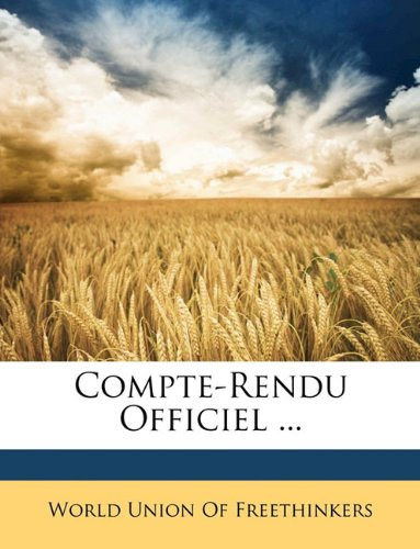 Compte-Rendu Officiel ...