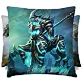 7 Weapons LOL - League of Legends the Shadow of War Hecarim 16 * 16 Inches Micro Fiber Peach Pillow for LOL Enthusiasts, for Home / Car Decor, Perfect Present for Friends and Sweetheart