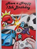 XBOX CONTROLLER GAMES MASTER COLOURFUL PERSONALISED AGED BIRTHDAY GREETING CARD ANY AGE