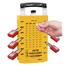 Master Lock Group Lock Box for Lockout/Tagout, Steel