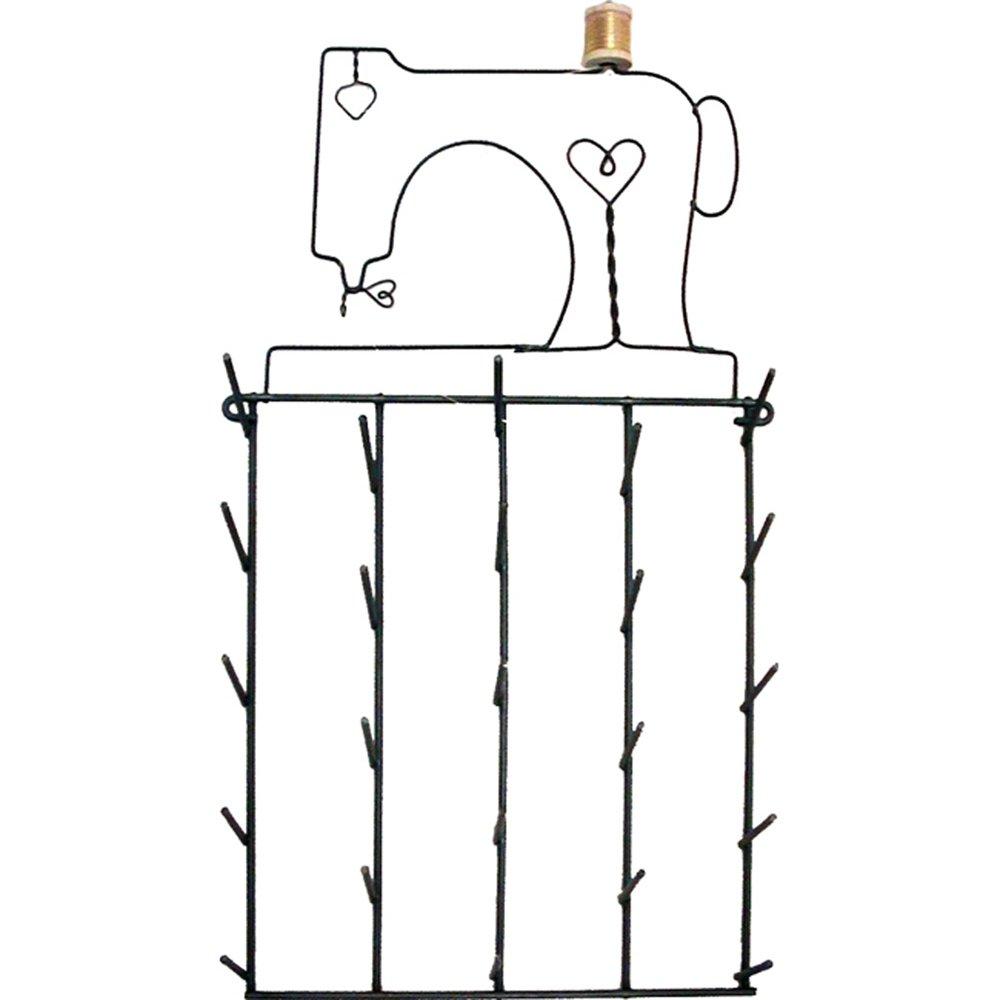 Ackfeld Spool Rack, Sewing Machine