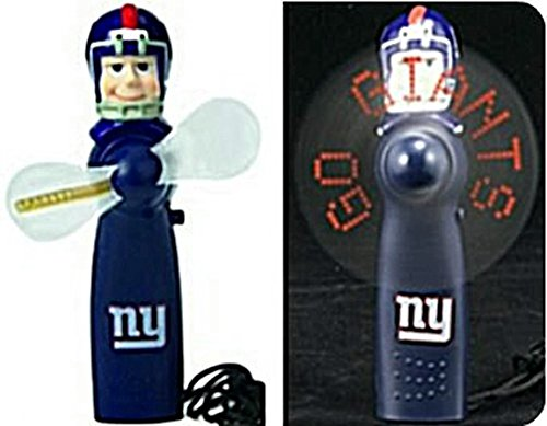 New York Giants Nfl Licensed Led Hand Held Light Up Fan