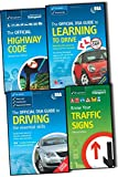 DSA Great Britain: Department for Transport Official DSA Guide to Learning to Driving Skills 4 Books Collection Pack Set RRP: £30.47 (Know your traffic signs, The Official Highway Code, Official DSA Guide to Learning to Drive, The Official DSA Guide to D