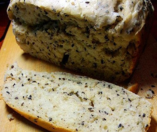 Ultra-soft black sesame bread: Ultra-soft black sesame bread by hongchu gan