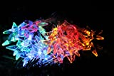 TLT Solar Powered 30 LED Star Fairy String Lights (Multi-Color) - Great for Patio Garden Lawn Christmas Party Pathway Fence LED034C