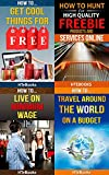 img - for 4 Books in 1 - How To Get Free Stuff, How To Get Cheap Stuff, How To Travel Cheaply, Frugal Living, Freebie Receiving, Frugal Traveler, Money Management, ... Travel, Budget Planner (How To Be Frugal) book / textbook / text book