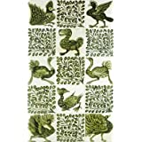 Birds and leaves, by William de Morgan (V&A Custom Print)