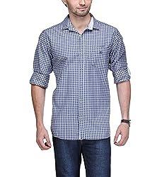 Macoro Men's Casual Shirt ( 3030 BLU )