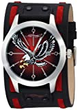 Ed Hardy Men's GL-CEL Gladiator Contrast Eagle Stainless Steel 316L Watch