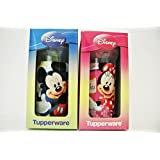 Limited Edition Choose Tupperware Disney Mickey Minnie mouse tumbler on the go (Mix 1 set)
