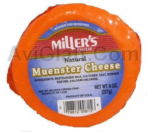 Miller's Natural Muenster Cheese 8 oz