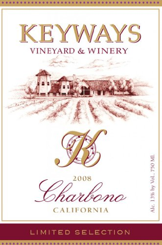2008 Keyways Vineyard And Winery Limited Selection Charbono, California 750 Ml