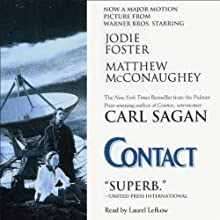 Contact (       UNABRIDGED) by Carl Sagan Narrated by Laurel Lefkow