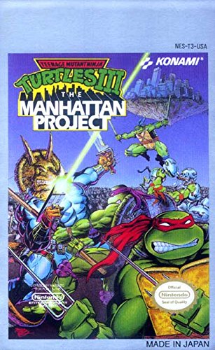 Teenage Mutant Ninja Turtles Iii, The Manhattan Project front-320743