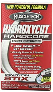 Hydroxycut Pro Clinical Instant Drink Mix, Fruit  Punch, 3.1g (40 pack)