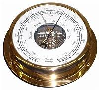Messing Schiffsbarometer von Hanseatic I...