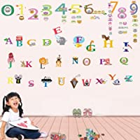 Walplus Kids Children Alphabet Cute Numbering Wall Sticker Mural Decal Art by Walplus