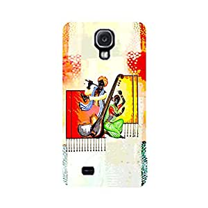 Skintice Designer Back Cover with direct 3D sublimation printing for Samsung Galaxy S4