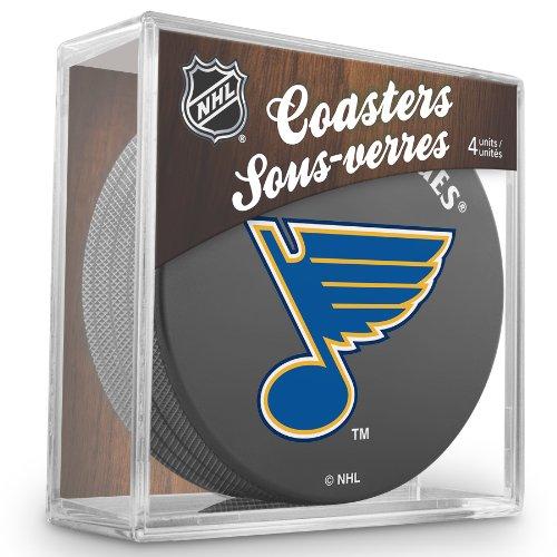 Reebok-Sher-Wood-St-Louis-Blues-NHL-Eishockey-Palet-4er-Untersetzer-ENSEMBLE