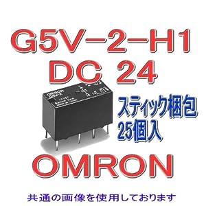 オムロン(OMRON) G5V-2-H1 DC24 ミニリレー 25個入 NN