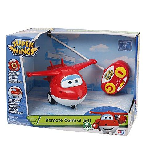 Giochi Preziosi - Super Wings Personaggio Jett, Veicolo Giocattolo con Radiocomando