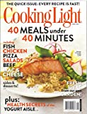 Cooking Light Magazine (April 2013 (The Quick Issue))