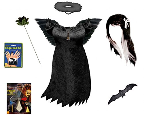 Sanctuarie Designs Sexy Dark Angel Deluxe Plus Size Supersize Halloween Costume Kit