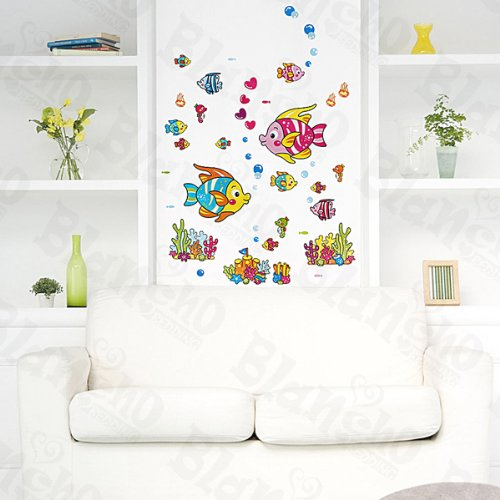 Discount Cartoon Fish-2 – Wall Decals Stickers Appliques Home Decor reviews
