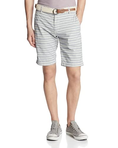 X-Ray Men's Striped Flat Front Shorts