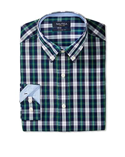 Nautica Men's Check Dress Shirt