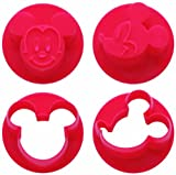 Mickey Mouse Vegetable Mold, Cookie Stamp, Made in Japan