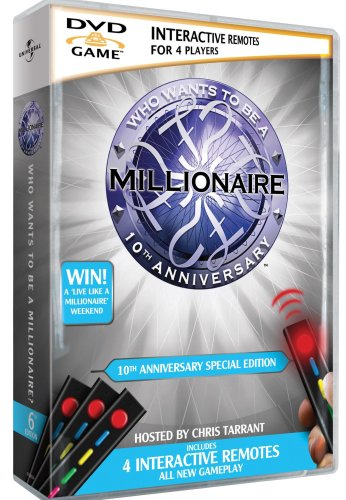 Who Wants to Be a Millionaire? - 10th Anniversary Edition [Interactive DVD]