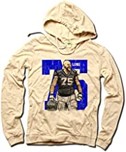 Kyle Long NFLPA Officially Licensed Chicago Bears Women39s Hoodie Kyle Long