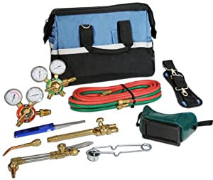 Hot Max PR-2-V Victor Style Medium Duty Cutting Oxy-Acetylene Torch Kit with Canvas Tool Bag