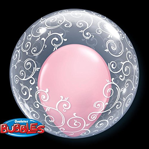 PIONEER BALLOON COMPANY Fancy Filligree Deco Bubble, 24""
