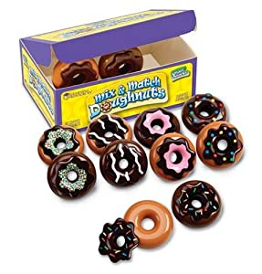 Learning Resources Smart Snacks: Mix And Match Doughnuts