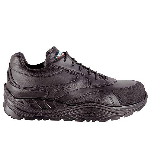 Cofra, 40-55051000-42, Scarpe di sicurezza S3 CI SRC Wheel Maxi Comfort 55051-000 calzature di pelle nera, taglia 42
