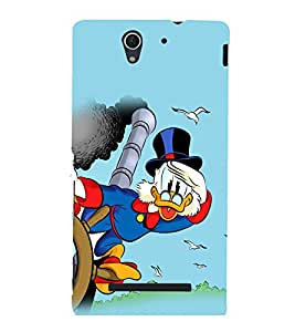 printtech Uncle Scrooge Disney Back Case Cover for Sony Xperia C3 Dual D2502::Sony Xperia C3 D2533