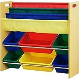 ottostyle.jp TOY BOX (トイボックス) 本棚付おもちゃ収納ラック(おもちゃ箱/おもちゃ収納ボックス/絵本棚)